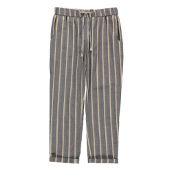 Tinsels pantalon rayures gris anthracite Flavio