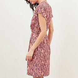 Tinsels robe Orphee vermillon
