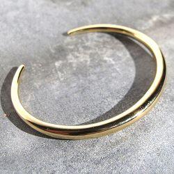 Trois Petits Points bracelet Crescent dore