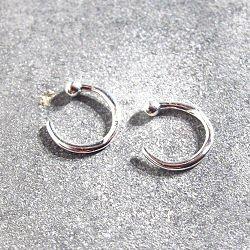 Trois Petits Points boucles piercing Ring XXS argent 925 hugger
