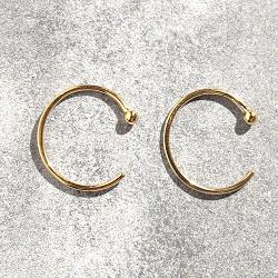 Trois Petits Points créoles dorées Ring XS