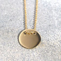 Trois Petits Points collier Round or 18k