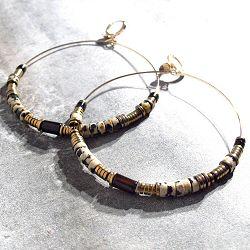 Vadi créoles Maïa perles