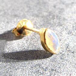 Vadi stud puce opale Pandore