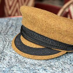 Van Palma casquette sailor moutarde Alma