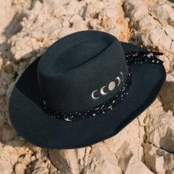 Van Palma chapeau Loris bleu