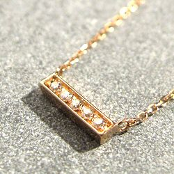 Vanrycke collier Mini-Medellin or rose diamants