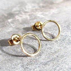 Viveka Bergstrom boucles Ring XS doré