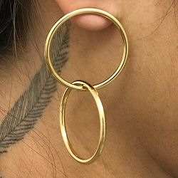Viveka Bergstrom boucles Ring balance
