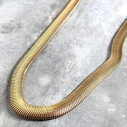 Viveka Bergstrom sautoir long snake bold
